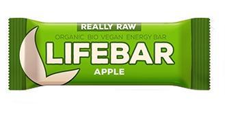 Lifebar Baton Cu Mere Raw Bio 47 g Lifefood 0