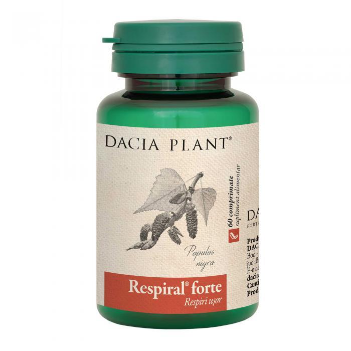 Respiral Forte 60 cpr Dacia Plant 0