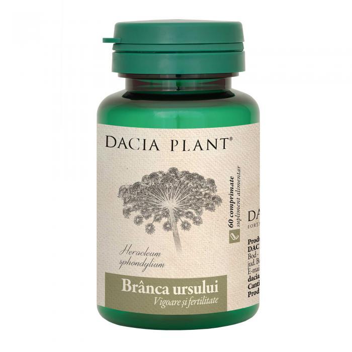Branca Ursului 60 cpr Dacia Plant 0
