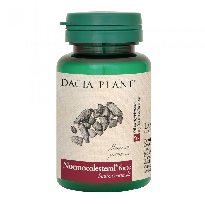 Normocolesterol Forte 60 cpr Dacia Plant [0]