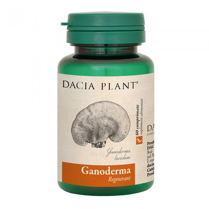 Ganoderma 60 cpr Dacia Plant [0]