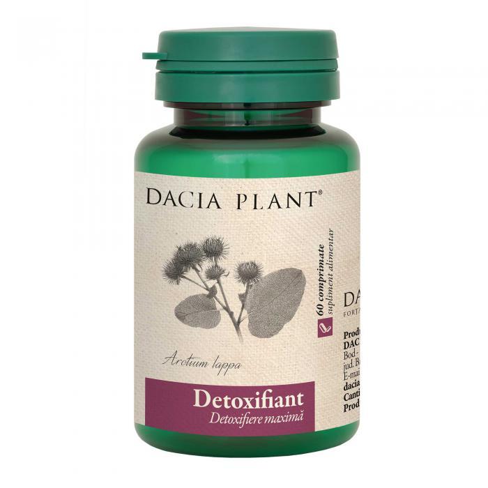 Detoxifiant 60 cpr Dacia Plant 0