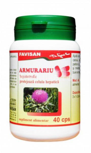 Armurariu (pentru protectia ficatului) x 40cps Favisan 0