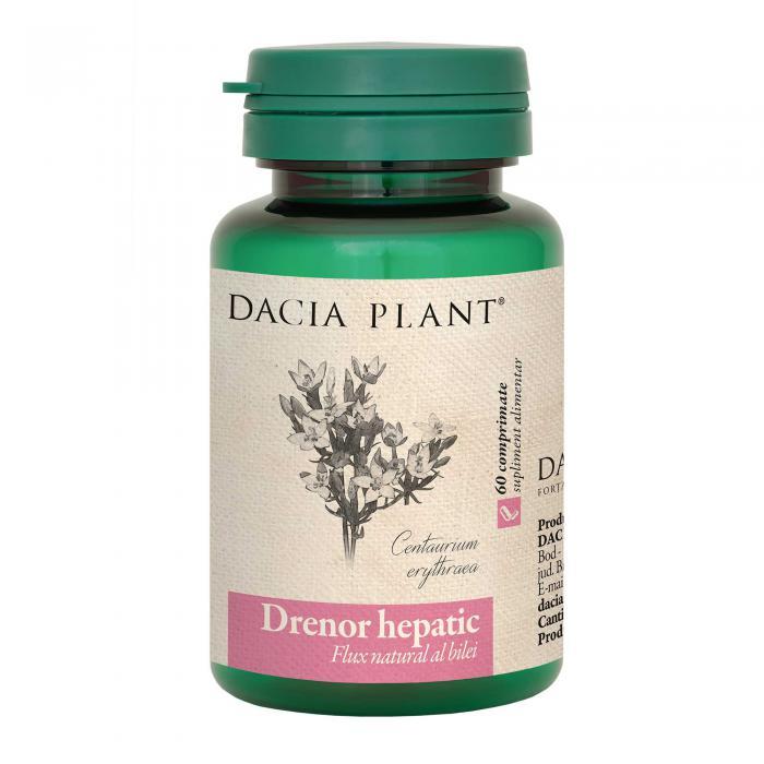 Drenor Hepatic 60 cpr Dacia Plant 0