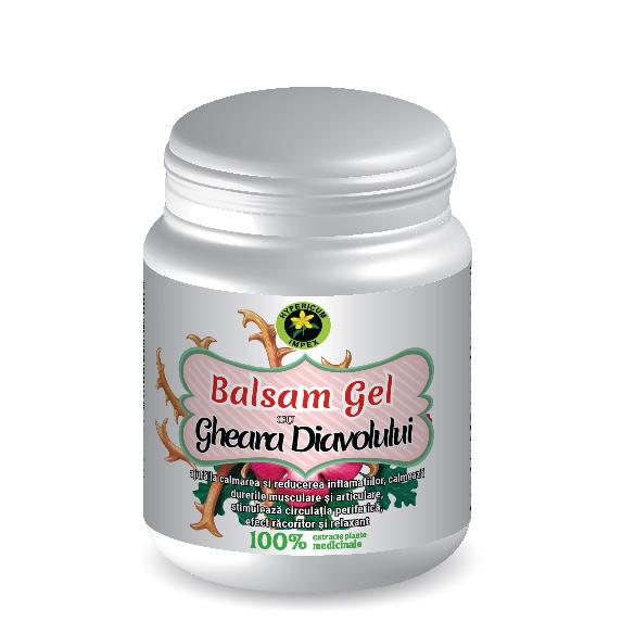Balsam Gel cu Gheara Diavolului 500ml Hypericum Plant 0