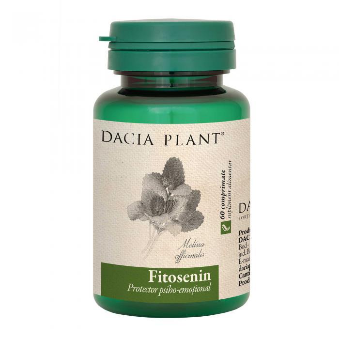 Fitosenin 60 cpr Dacia Plant 0