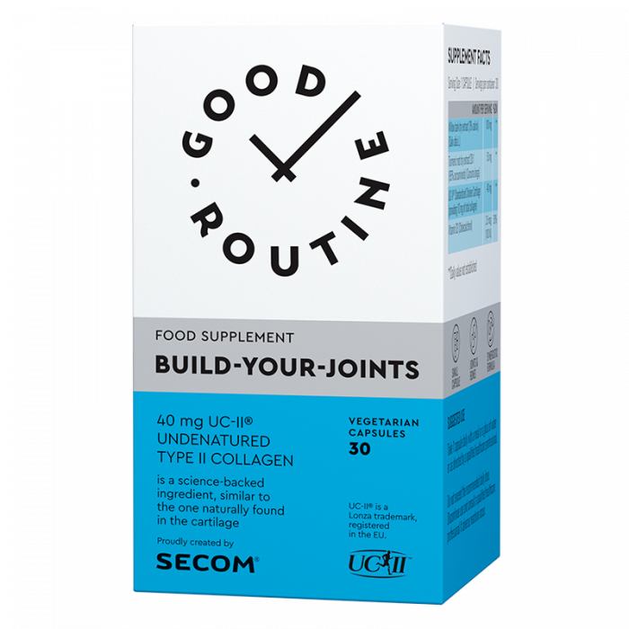 Build Your Joints 30 cps Good Routine Secom 0