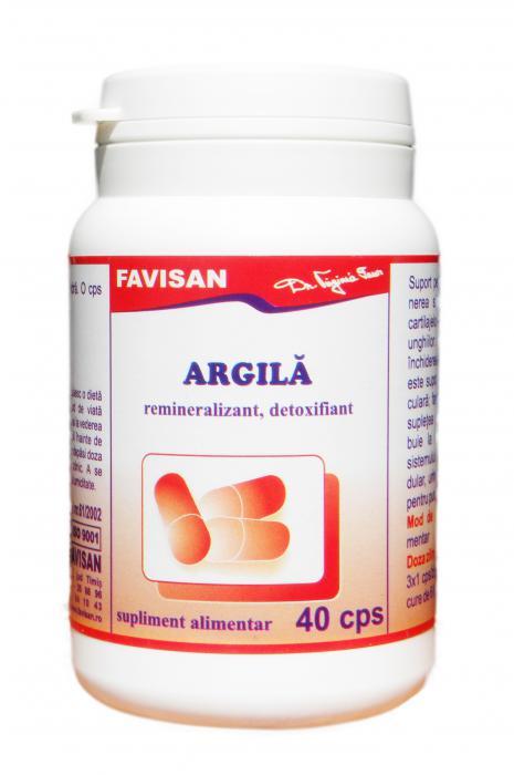 Argila 40 cps Favisan 0