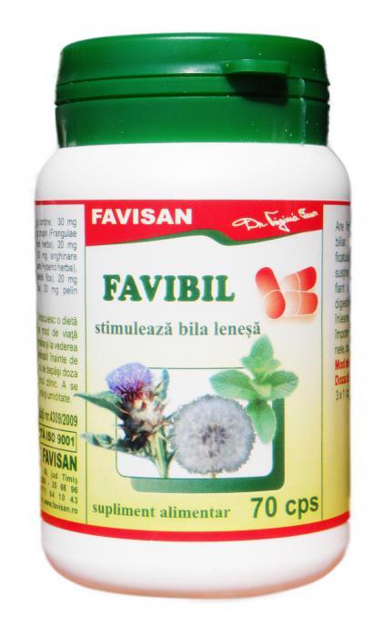 Favibil 70 cps Favisan 0