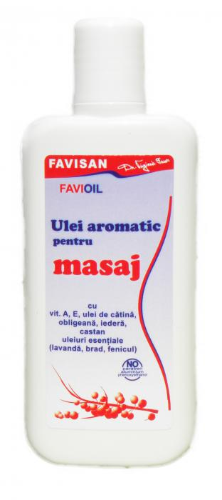 Ulei Aromatic Masaj 125 ml Favisan 0