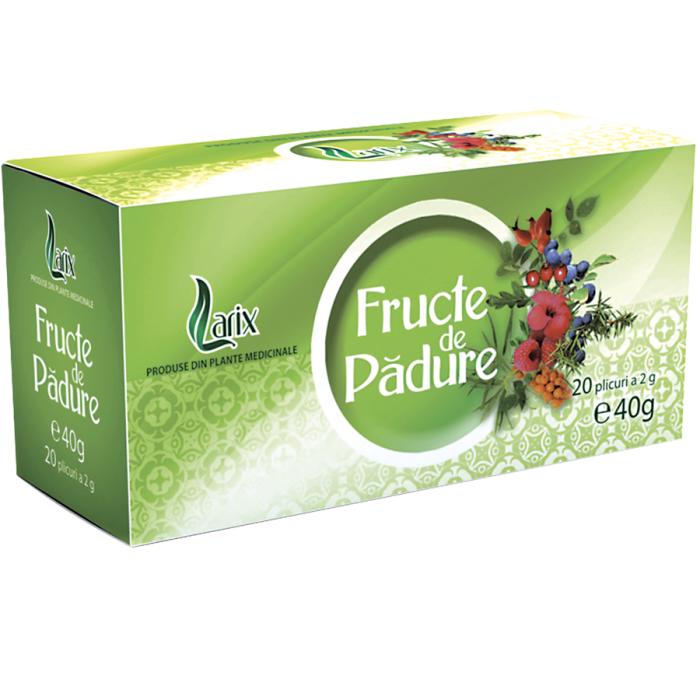 Ceai Fructe De Padure 20 plicuri cu snur Larix 0
