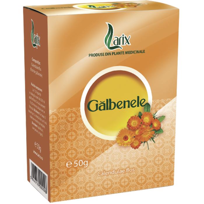 Ceai Galbenele 50 g Larix 0