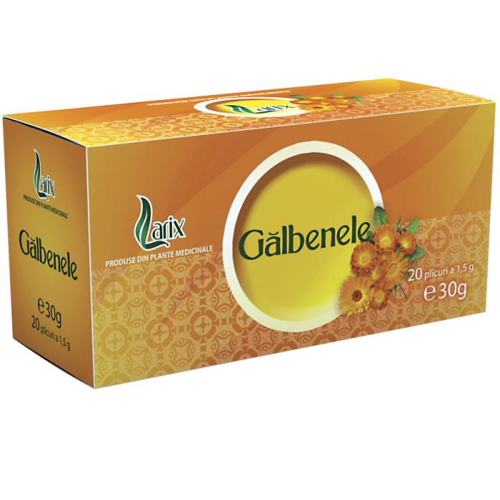 Ceai Galbenele 20 plicuri Larix 0
