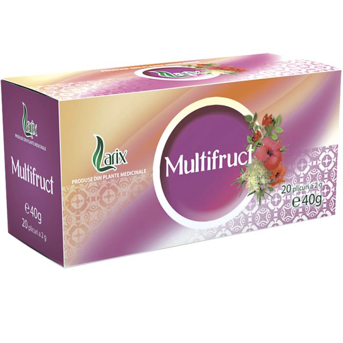 Ceai Multifruct 20 plicuri Larix 0