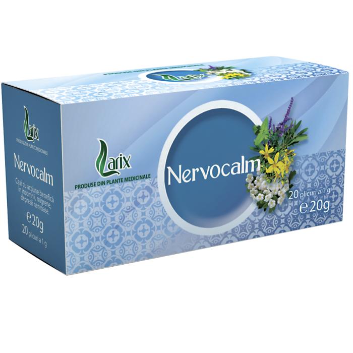 Ceai Nervocalm 20 plicuri Larix 0