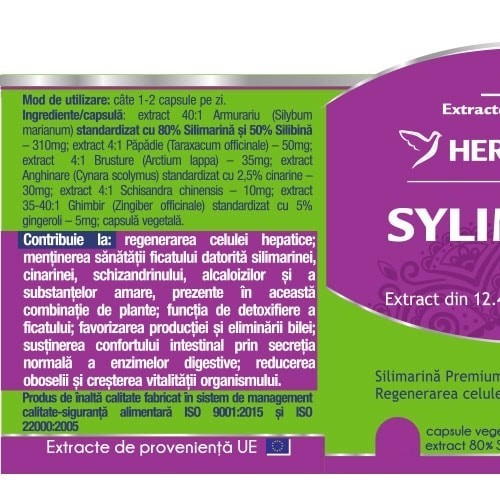 Silymarin Complex 80/50 Detox Forte (Silimarina) 30 cps -10% 1