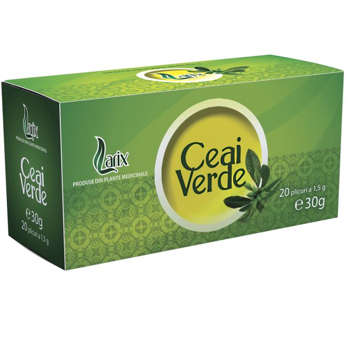 Ceai Verde 20 plicuri Larix 0