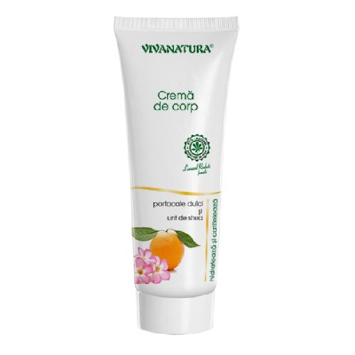 Crema de Corp cu Ulei de Portocale Dulci si Unt de Shea 250ml Viva Natura 0