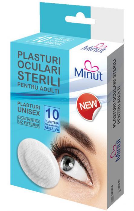 Plasturi Ochi Adulti 10 buc Minut 0