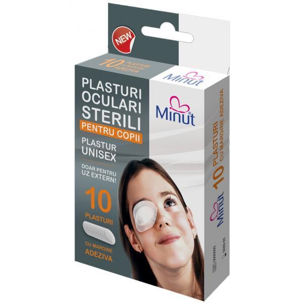 Plasturi Ochi Copii 10 buc Minut 0