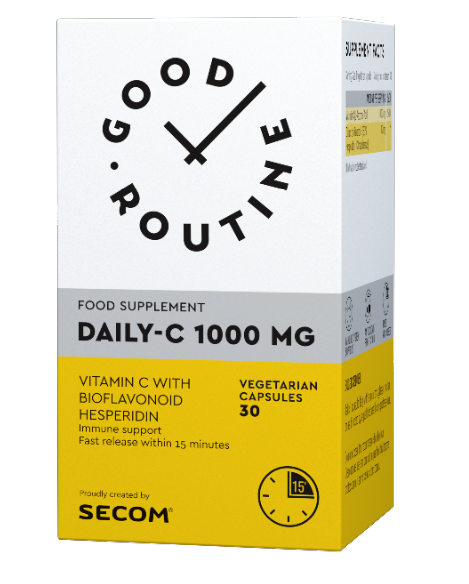 Daily C 1000mg 30 cps Good Routine Secom 0