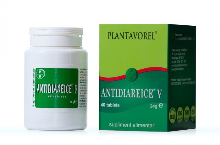 Antidiareice V 40 tb Plantavorel 0