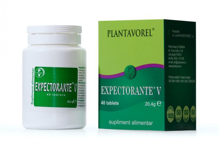 Expectorante V 40 tb Plantavorel 0