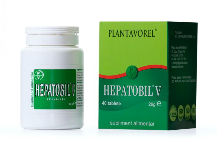 Hepatobil V 40 tb Plantavorel [0]
