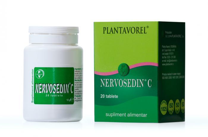 Nervosedin C 50 tb Plantavorel [0]