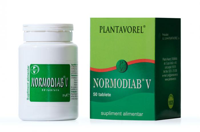 Normodiab V 50 tb Plantavorel [0]