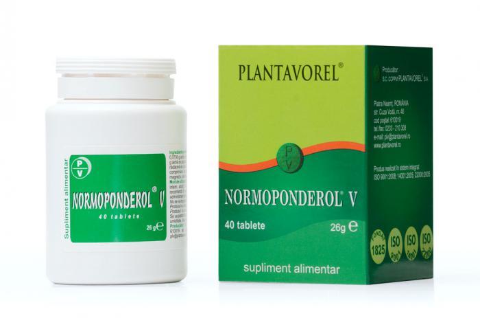Normoponderol V 40 tb Plantavorel [0]