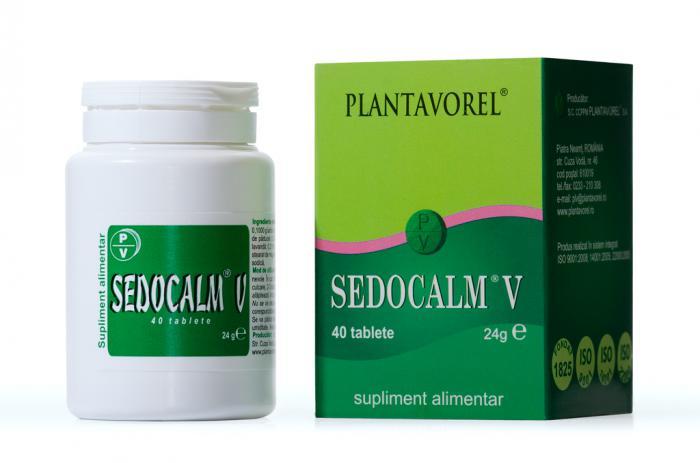 Sedocalm V 40 tb Plantavorel 0