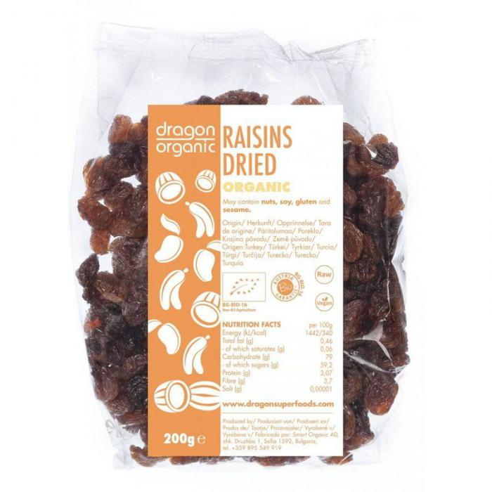 Stafide Bio 200 g Dragon Superfoods 0