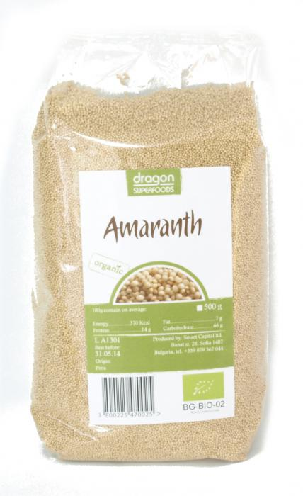 Amaranth Bio 500 g Dragon Superfoods 0