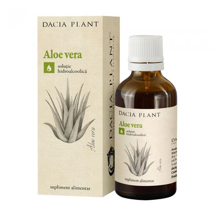 Tinctura Aloe 50 ml Dacia Plant 0