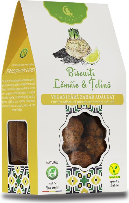 Biscuiti Vegani Lamaie si Telina x 150 g Hiper Ambrozia 0