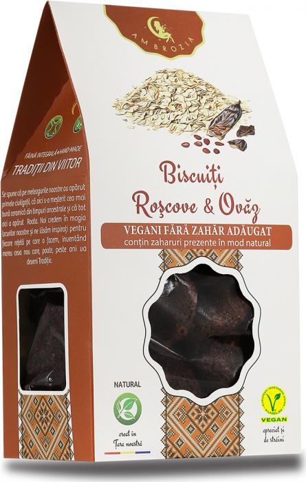 Biscuiti Roscove si Ovaz x 150 g HiperAmbrozia [0]