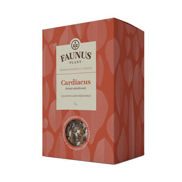 Ceai Inima Sanatoasa -  Cardiacus - 90 g Faunus Plant 0