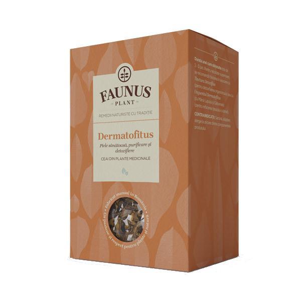 Ceai Piele Sanatoasa, Purificare, Detoxifiere - Dermatofitus - 90 g Faunus Plant 0