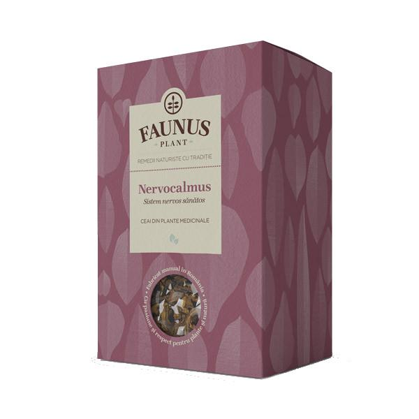Ceai Sistem Nervos Sanatos - Nervocalmus - 90 g Faunus Plant 0