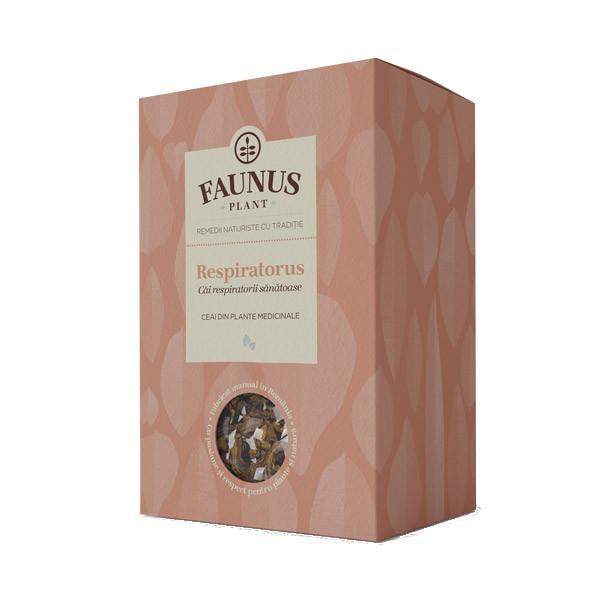 Ceai Cai Respiratorii Sanatoase - Respiratorus - 90 g Faunus Plant 0
