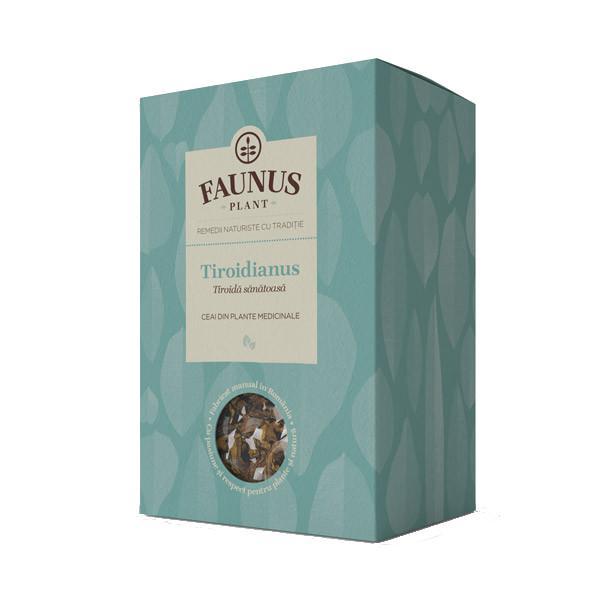 Ceai Tiroida Sanatoasa - Tiroidianus - 90 g Faunus Plant 0