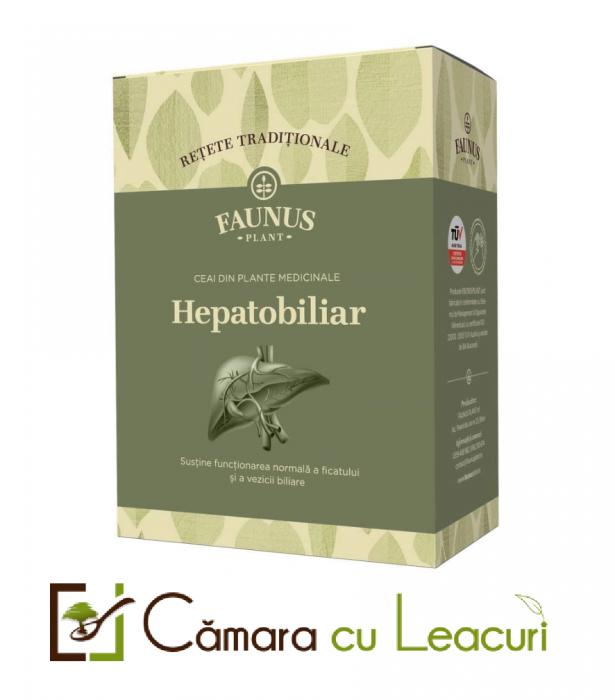 Ceai - Retete Traditionale - Hepatobiliar x 180 g [0]