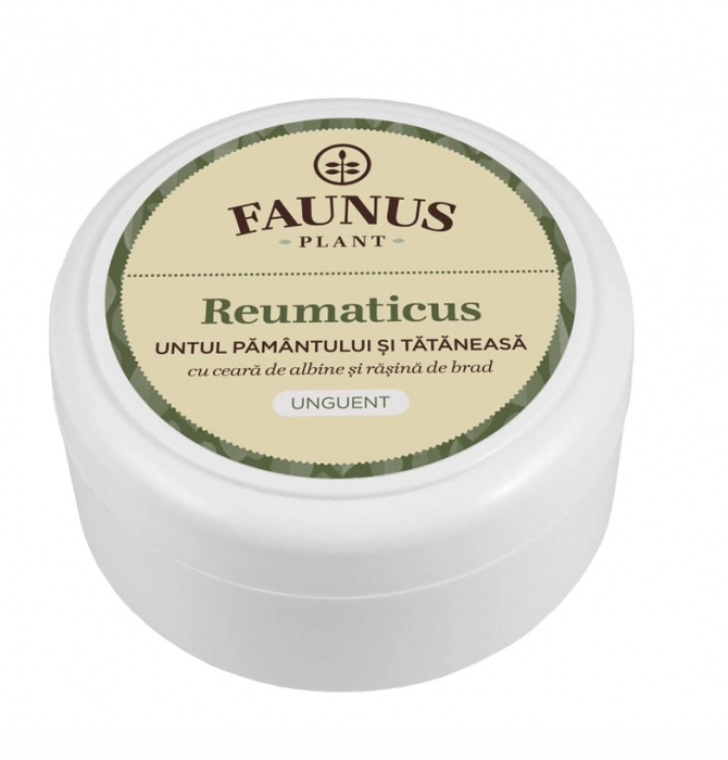 Unguent Untul Pamantului Si Tataneasa ( Reumaticus) 100 ml [0]