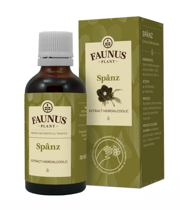 Tinctura Spanz 50 ml Faunus Plant 0