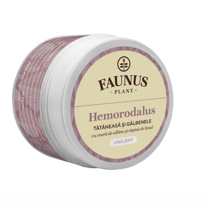 Unguent Tataneasa Si Galbenele ( Hemorodalus )  50 ml Faunus Plant [0]