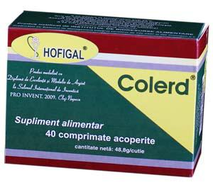 Colerd Plus 40 cpr Hofigal 0