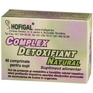 Complex Detoxifiant Natural 40 cpr Hofigal 0