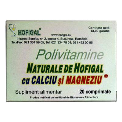 Polivitamine 40 cpr  CA+MG  Hofigal 0