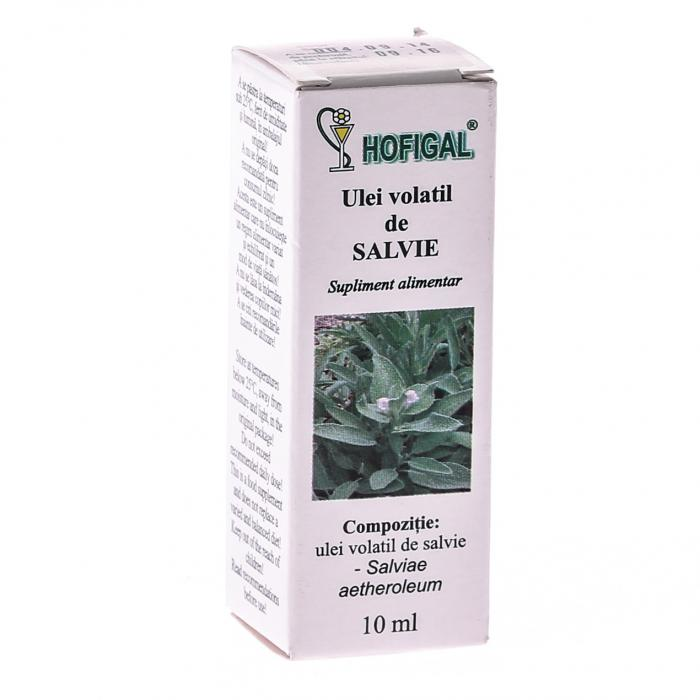 Ulei Volatil De Salvie 10 ml Hofigal 0